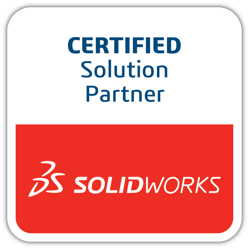 SOLIDWORKS Solution Partner badge